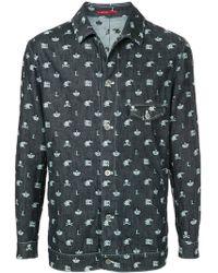 Loveless - Skull Print Jacket - Lyst