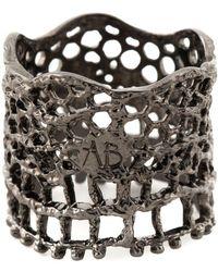 Aurelie Bidermann - 'vintage Lace' Ring - Lyst