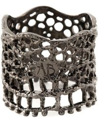 Aurelie Bidermann - 'vintage Lace' Ring - Lyst