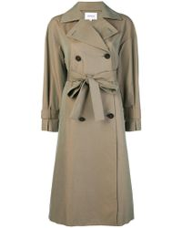 Enfold - Double-breasted Trench Coat - Lyst