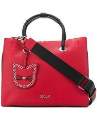 Karl Lagerfeld - Karry All Shopper Tote Bag - Lyst