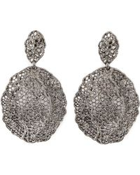 Aurelie Bidermann - Vintage Lace Earrings - Lyst