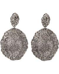 Aurelie Bidermann - Vintage Lace Earrings - Lyst
