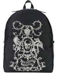Alexander McQueen - Skull Coat Of Arms Backpack - Lyst