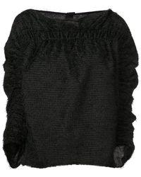 Zero + Maria Cornejo - Cropped Sleeve Sweater - Lyst