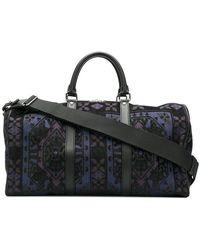 Etro - Carpet Embroidery Jacquard Travel Bag - Lyst