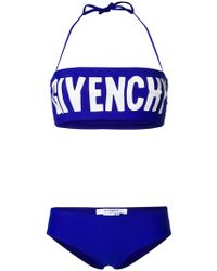 b3d4be94c5 Givenchy - Printed Logo Bikini - Lyst