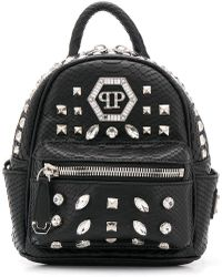 Philipp Plein - Crystal Embellished Backpack - Lyst
