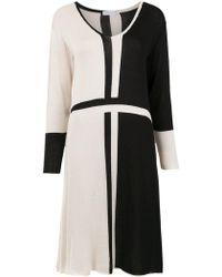 Mara Mac - Bicolour Knit Dress - Lyst