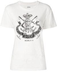 Polo Ralph Lauren - Crest Logo T Shirt - Lyst