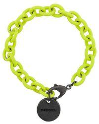 DIESEL - Chain Bracelet - Lyst