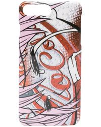 Moschino - Mo Cola Print Iphone 8+ Case - Lyst