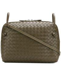Bottega Veneta Woven Shoulder Bag in Natural - Lyst 9d515efbe6eae
