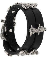 Gucci - Bull Head Bracelet - Lyst