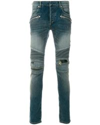 Balmain - Nervures 7-pocket Jeans - Lyst