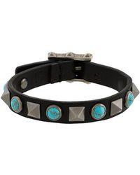 Valentino - Rockstud Turquoise Bracelet - Lyst