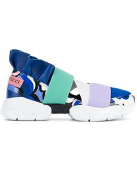 Emilio Pucci - Colour Block Slip-on Sneakers - Lyst