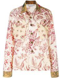 Pierre Louis Mascia - Floral Shirt Jacket - Lyst