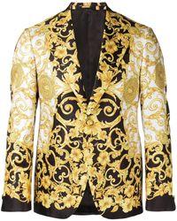 Versace - Sakko mit barockem Print - Lyst