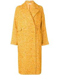 Ulla Johnson - Speckled Twill Coat - Lyst