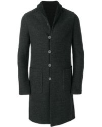 Label Under Construction - Reversible Knitted Coat - Lyst