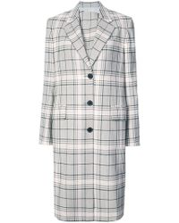 CALVIN KLEIN 205W39NYC - Classic Single-breasted Coat - Lyst
