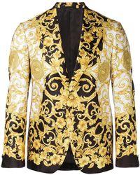 Versace - Baroque Print Blazer - Lyst