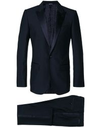 Dolce & Gabbana | Satin Trim Dinner Suit | Lyst
