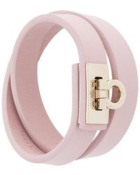 Ferragamo | Double Gancio Bracelet | Lyst