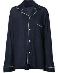The Elder Statesman - Pyjama-style Top - Lyst