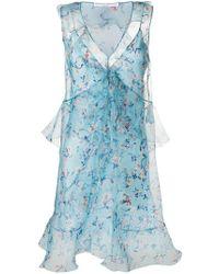 Ermanno Scervino - Floral Tulle Dress - Lyst