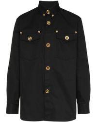 Versace - Camicia con colletto button-down - Lyst