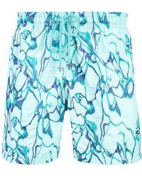 Vilebrequin - Embroidered Swim Shorts - Lyst