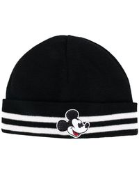 71b1c8a5bca5f Comme des Garçons Mouse Ears Wool Blend Rib Knit Beanie in Blue for ...