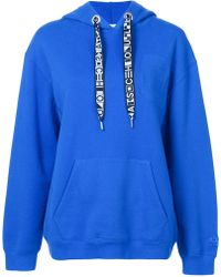 Proenza Schouler - Pswl Hooded Sweatshirt - Lyst