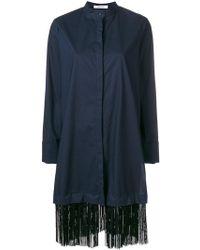 Dorothee Schumacher - Fringe Shirt Dress - Lyst