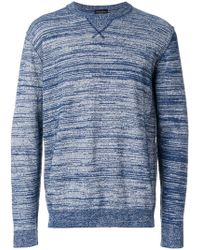 Roberto Collina - Patterned Sweatshirt - Lyst