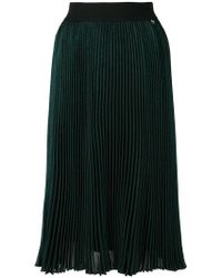 Twin Set - High-waisted Pleated Skirt - Lyst