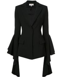 Christian Siriano - Flared Sleeve Jacket - Lyst