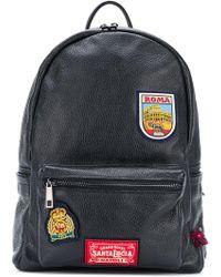 Fefe - Patch Embellished Backpack - Lyst