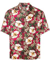 DSquared² - Hawaiian Floral Print Shirt - Lyst