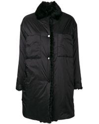Max & Moi - Fur Collar Down Jacket - Lyst