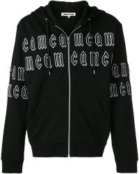 McQ - Embroidered Logo Hoodie - Lyst