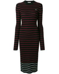 McQ - Striped Knitted Dress - Lyst