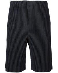 Homme Plissé Issey Miyake - Pleated Shorts - Lyst