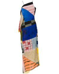 Mara Mac - Long Patchwork Dress - Lyst