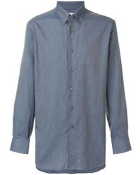 Brioni - Button Down Shirt - Lyst