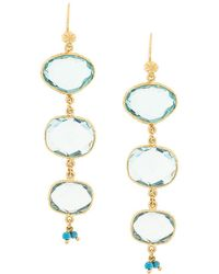 Gas Bijoux - Silene Drop Earrings - Lyst