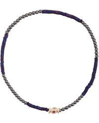 Luis Morais - Colour Block Barrel Bracelet - Lyst