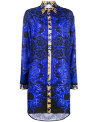 Versace - Baroque Print Shirt - Lyst